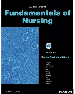 Cover of Kozier & Erb's Fundamentals of Nursing Vols 1-3 (Aus)                   This is a 3 volume set containing these ISBN'S 9781442541672,           9781442541689 and 9781442541696