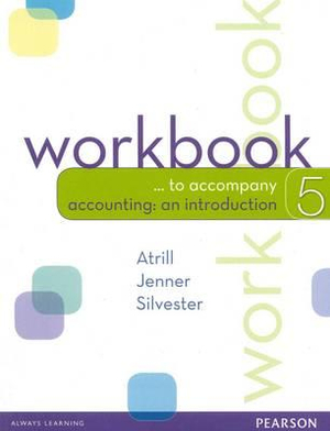 Cover of Accounting: An Introduction Workbook