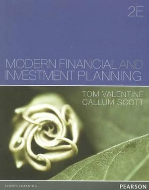 Cover of Financial Investment and Investment Planning