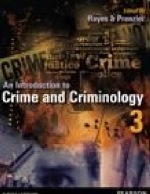 Cover of Introduction to Crime and Criminology