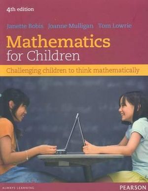 Cover of Mathematics for Children