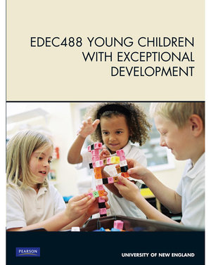 Cover of EDEC488 Young Children with Exceptional Development
