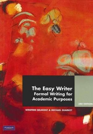Cover of The Easy Writer Pearson Original