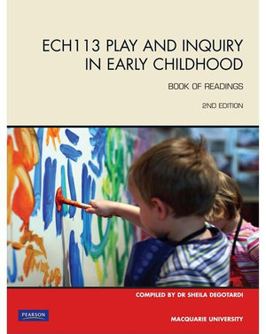 Cover of ECH113 Play and Inquiry in Early Childhood