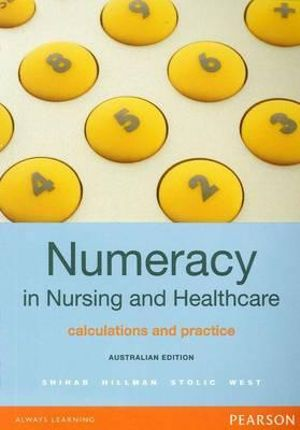 Cover of Numeracy in Nursing and Healthcare