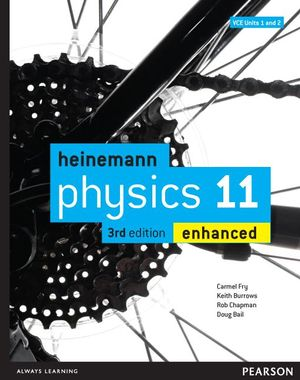 Cover of Heinemann Physics 11 Enhanced Student Book 3rd Edition