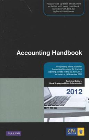 Cover of Accounting Handbook 2012