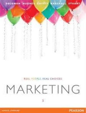 Cover of Marketing: Real People Real Choices