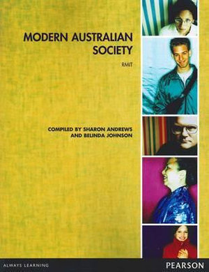 Cover of Modern Australian Society Custom Book                                   Source Books, please see text