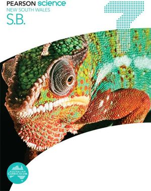 Cover of Pearson Science New South Wales 7 Student Book