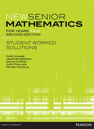 Cover of New Senior Mathematics for Years 11 & 12