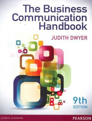 Cover of Business Communication Handbook with Companion Website Student Access   Card