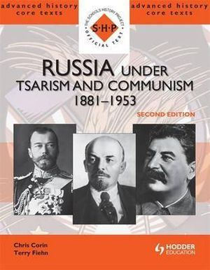 Cover of Russia Under Tsarism and Communism 1881-1953