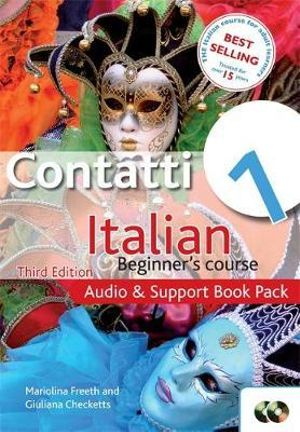 Cover of Contatti 1 Italian Beginner's Course
