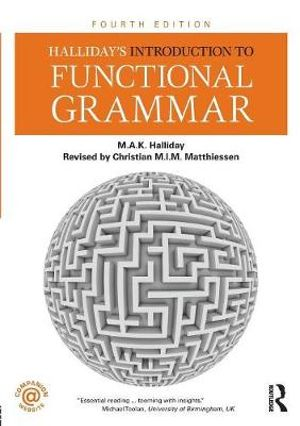 Cover of Halliday's Introduction to Functional Grammar