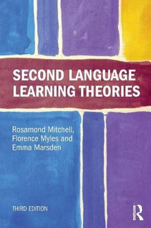 Cover of Second Language Learning Theories