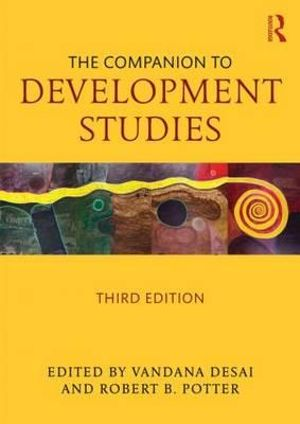 Cover of The Companion to Development Studies