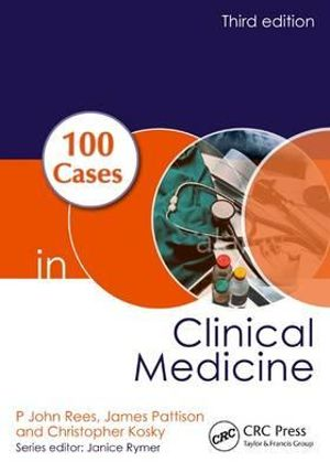 Cover of 100 Cases in Clinical Medicine, Third Edition