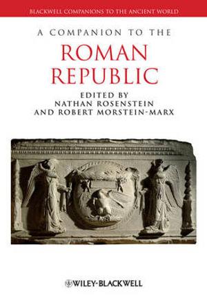 Cover of A Companion to the Roman Republic