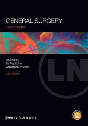 Cover of Lecture Notes: General Surgery
