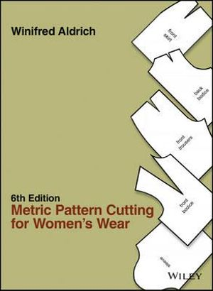 Cover of Metric Pattern Cutting for Women's Wear