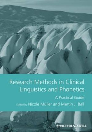 Cover of Research Methods in Clinical Linguistics and Phonetics