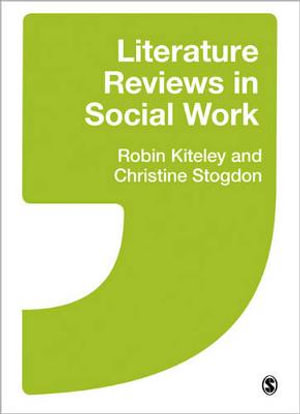 Cover of Literature Reviews in Social Work