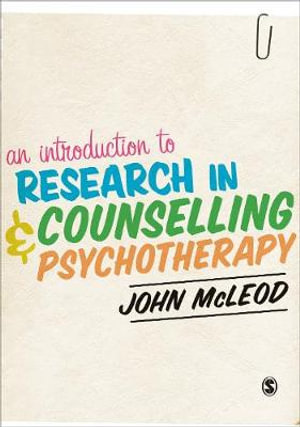 Cover of An Introduction to Research in Counselling and Psychotherapy