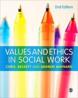 Cover of Values and Ethics in Social Work