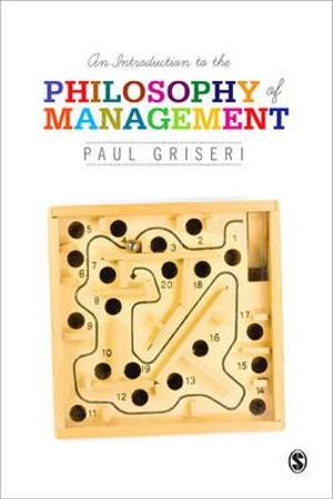 Cover of An Introduction to the Philosophy of Management