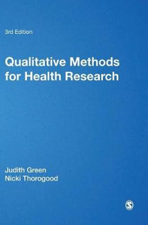 Cover of Qualitative Methods for Health Research