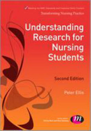 Cover of Understanding Research for Nursing Students