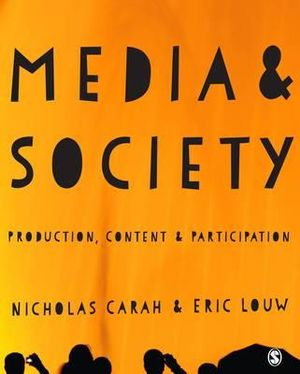 Cover of Media and Society