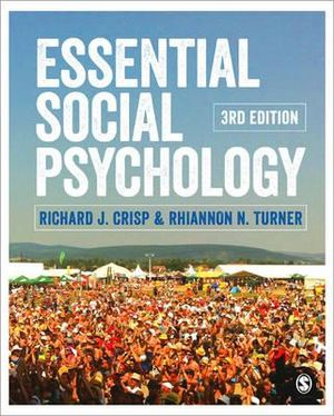 Cover of Essential Social Psychology
