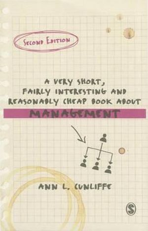 Cover of A Very Short, Fairly Interesting and Reasonably Cheap Book about Management
