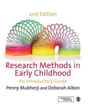 Cover of Research Methods in Early Childhood