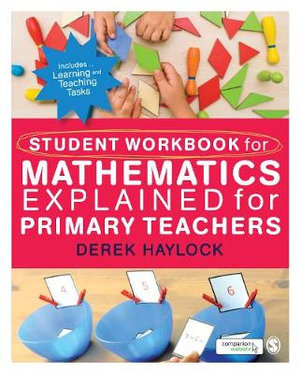 Cover of Student Workbook for Mathematics Explained for Primary Teachers