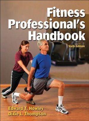 Cover of Fitness Professional's Handbook