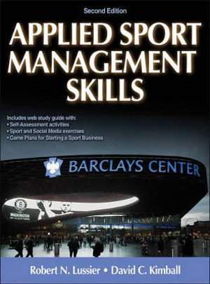 Cover of Applied Sport Management Skills, Second Edition (With Web Study Guide)