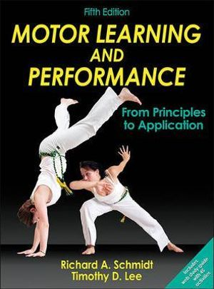 Cover of Motor Learning and Performance, 5E With Web Study Guide