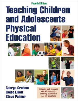 Cover of Teaching Children and Adolescents Physical Education 4th Edition