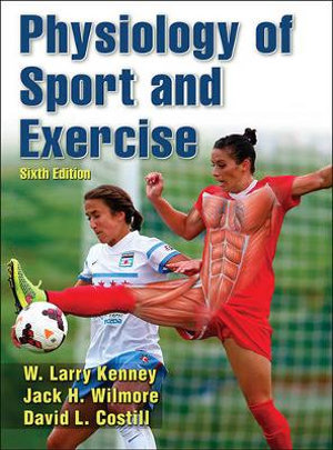 Cover of Physiology of Sport and Exercise 6th Edition
