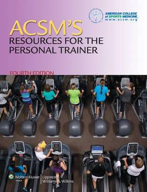 Cover of ACSM's Resources for the Personal Trainer