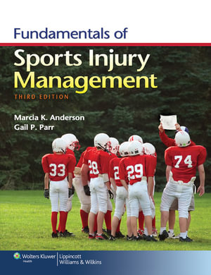 Cover of Fundamentals of Sports Injury Management