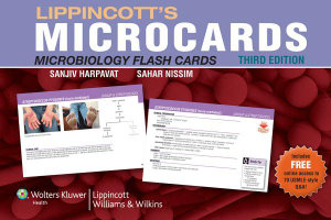 Cover of Lippincott's Microbiology Flash Cards