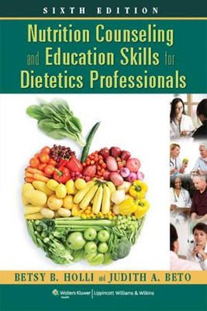 Cover of Nutrition Counseling and Education Skills for Dietetics Professionals