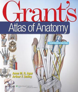 Cover of Grant's Atlas of Anatomy