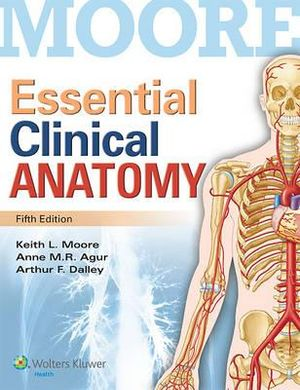 Cover of Essential Clinical Anatomy Us Ed