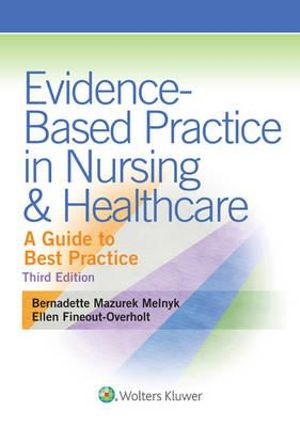Cover of Evidence-Based Practice in Nursing and Healthcare