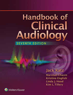 Cover of Handbook of Clinical Audiology
